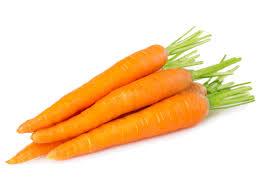 zanahoria en manojos